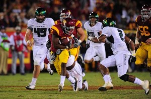 USC Trojans, Oregon Ducks, C.J. Gable, College football