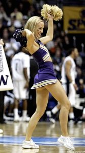 college cheerleaders, Washington
