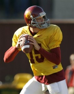 Aaron Corp, USC Trojans, college football