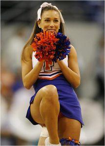 college cheerleader, Florida Gators