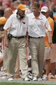 Lane Kiffin, Monte Kiffin, college football, Tennessee
