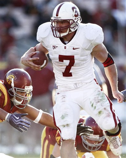 Toby Gerhart, Stanford, USC