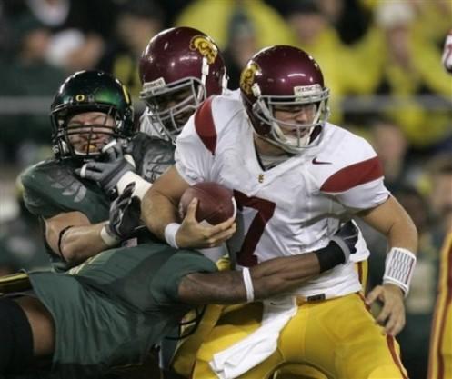 college football, USC, Oregon, Matt Barkley