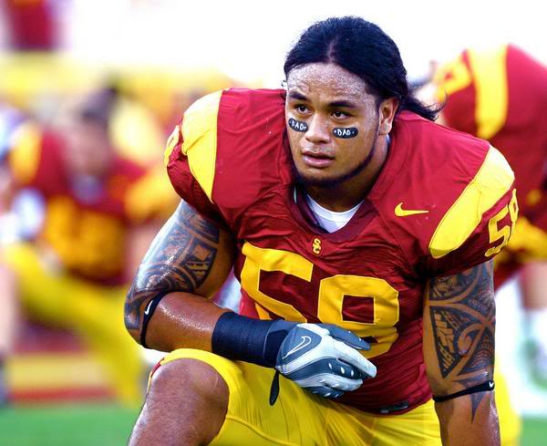 wholesale dealer 9ec0d 6034d Season ends for Rey Maualuga | The Trojan Empire