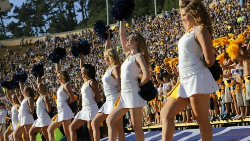 Cal-Bears-Cheerleaders
