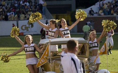 cheerleaders-Georgia Tech